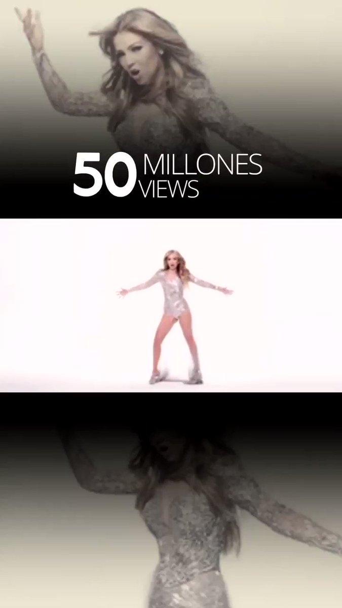 ¡#SoloPareciaAmor tiene 50 Millones de Views en mi canal de #YouTube!!! 🎉🎉🎉 ¡Vamos por más! ➡️