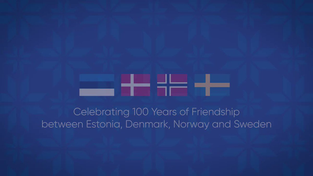 Today we celebrate 100 years of diplomatic relations between 🇪🇪Estonia, 🇩🇰Denmark, 🇳🇴Norway and 🇸🇪Sweden. Our countries share a long history and a promising future. Thank you @SwedishPM @erna_solberg & Mette Frederiksen for joining us in this celebration! https://t.co/yFDsnRbKSF