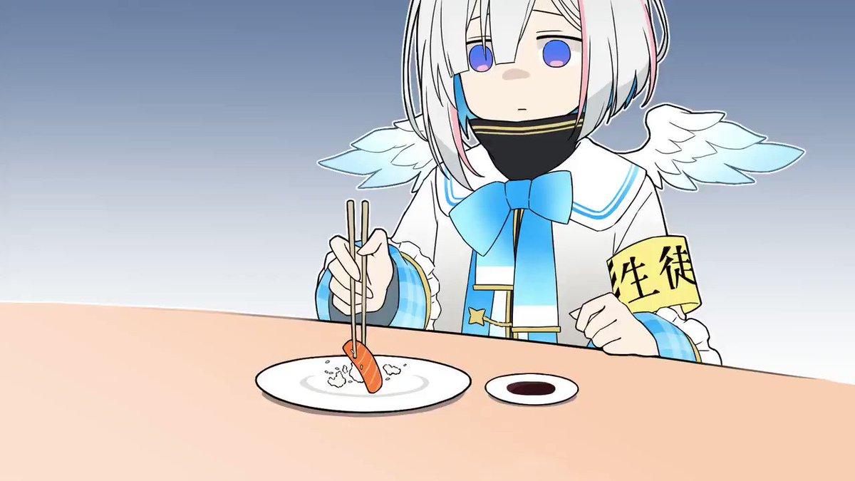 握力が強すぎて寿司が食べれないかなたんフル版はこちら#かなたーと