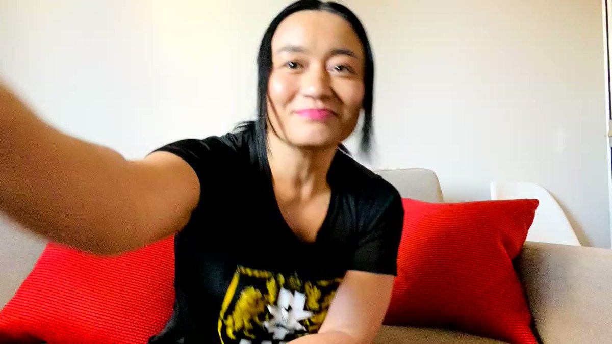 皆さんお久しぶりです‼️生配信よりここからの動画の方が見てくれそう!ロンドンのホテルより🇬🇧私のNXT UK初試合は日本時間12日朝5時から放送。@WWEUniverse @WWENetwork で見られます。再放送も見られます。#WWE #NXTUK #仙女 #女子プロレス