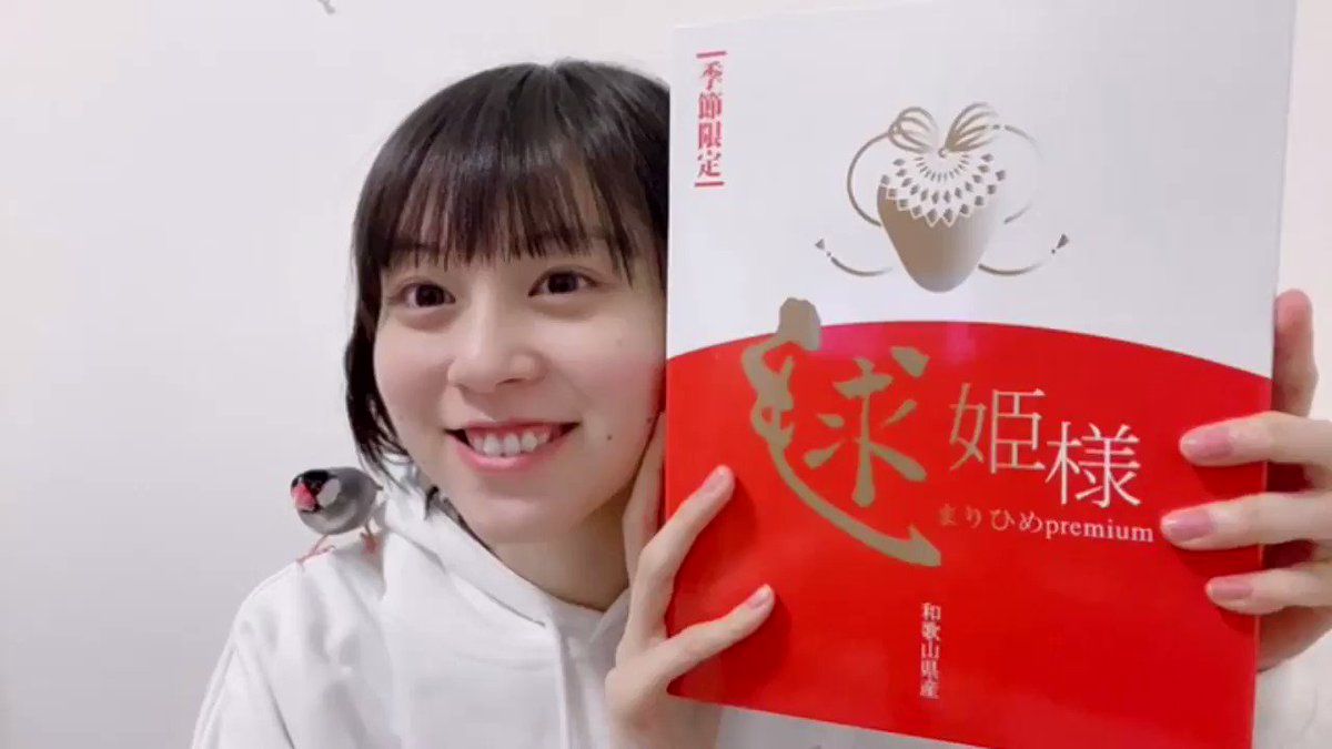 和歌山県庁さんから頂いた和歌山県産の「まりひめ」🍓めちゃくちゃ美味しくて甘くて最高ですーー!!また語彙力がなくなってしまいました笑#和歌山 #まりひめ #毬姫様