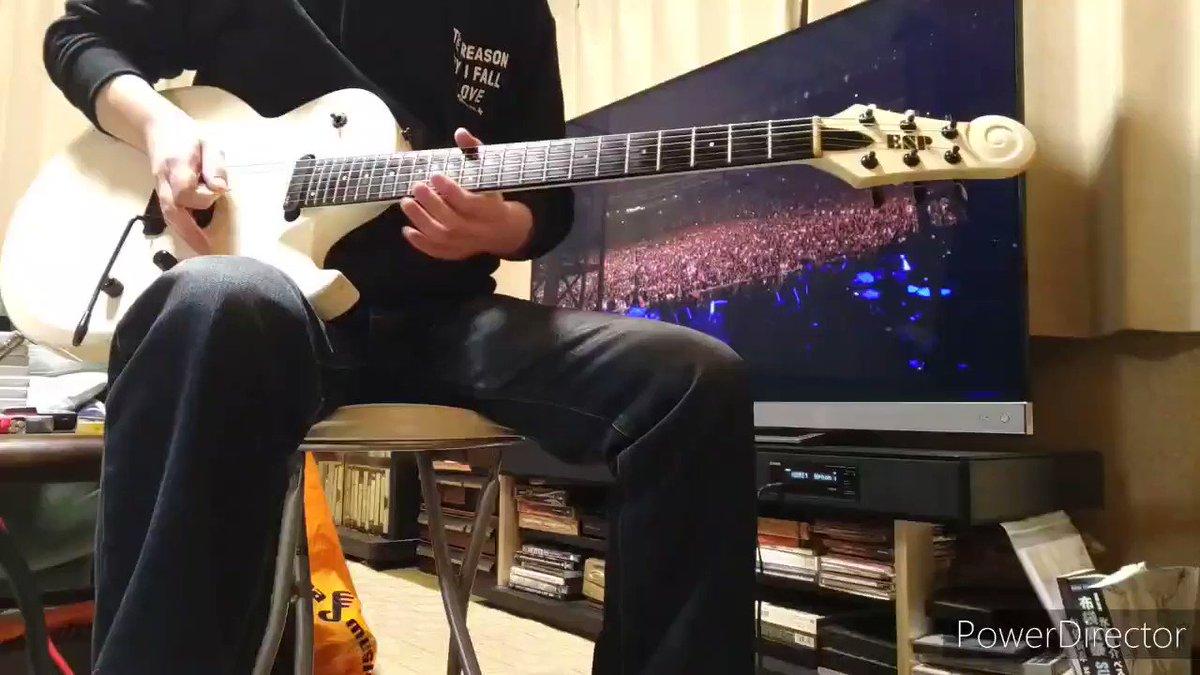 KYOSUKE HIMURO/VIRGIN BEATのギター弾いてみた。個人的にカッコいいなぁと思うフレーズがあって好きな1曲で弾いていて気持ちよくてスカッとします🎶😆早く世の中良くなって手放しでスカッとしたいですね🙌#氷室京介#kyosukehimuro#ヒムロック#VIRGINBEAT#espguitars#スカッと#気持ちいい
