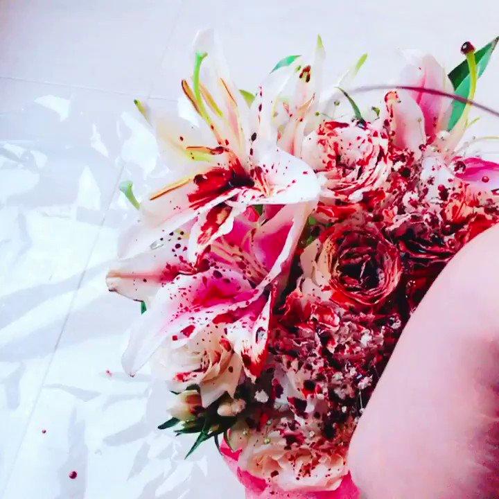 色んな花でやってみたいね#瀉血