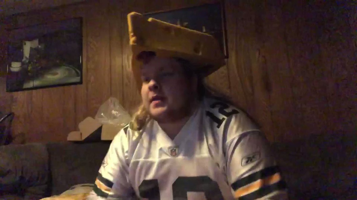 If you wanted to know what my reaction was when Aaron Rodgers won MVP, it was this: