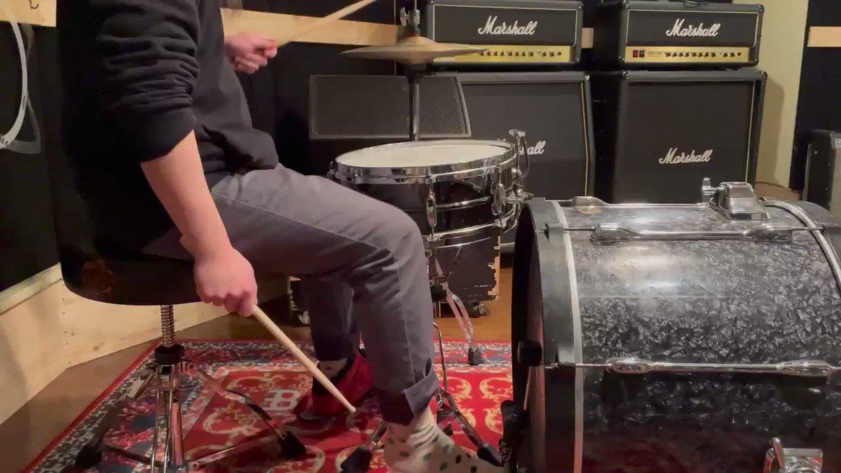 好きなフィル#drums#叩いてみた