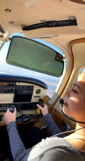 I flew a plane 😆 https://t.co/Lsy5RCbKyM