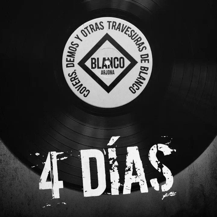 Faltan 4 días #TravesurasBlanco  Reserva álbum aquí>>