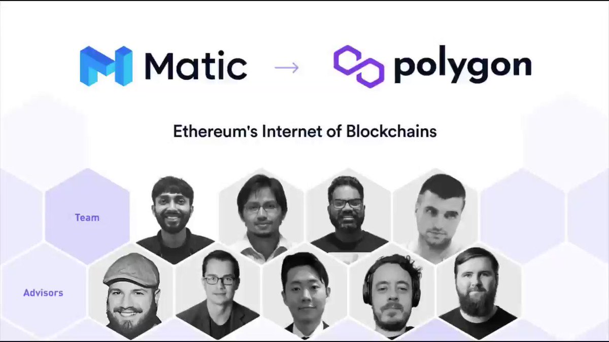 We at @bounty0x are so thrilled with this news from @0xPolygon (previously Matic)! If you're looking for a project with a strong team and even stronger tech, take a look into https://t.co/V7p82v01Nr. The use cases are astounding! #Crypto #Scalability #Interoperability #Polygon