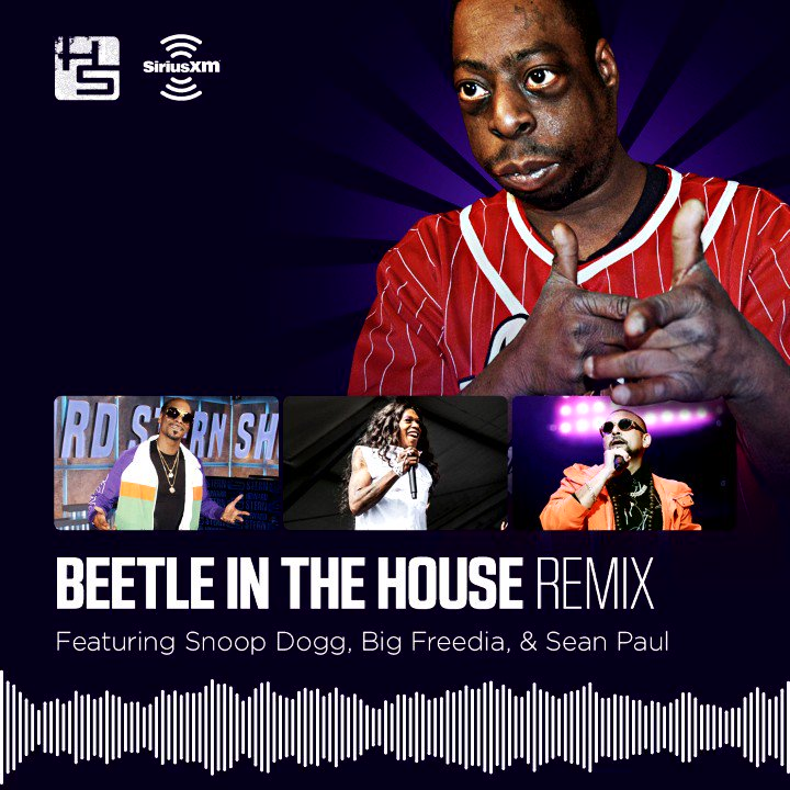 Beetlejuice & Snoop Dogg & Big Freedia & Sean Paul.  Check out the #BeetleInTheHouseRemix with @Beetlepimp feat. @SnoopDogg, @bigfreedia, and @duttypaul! https://t.co/a0ZtttgBKk