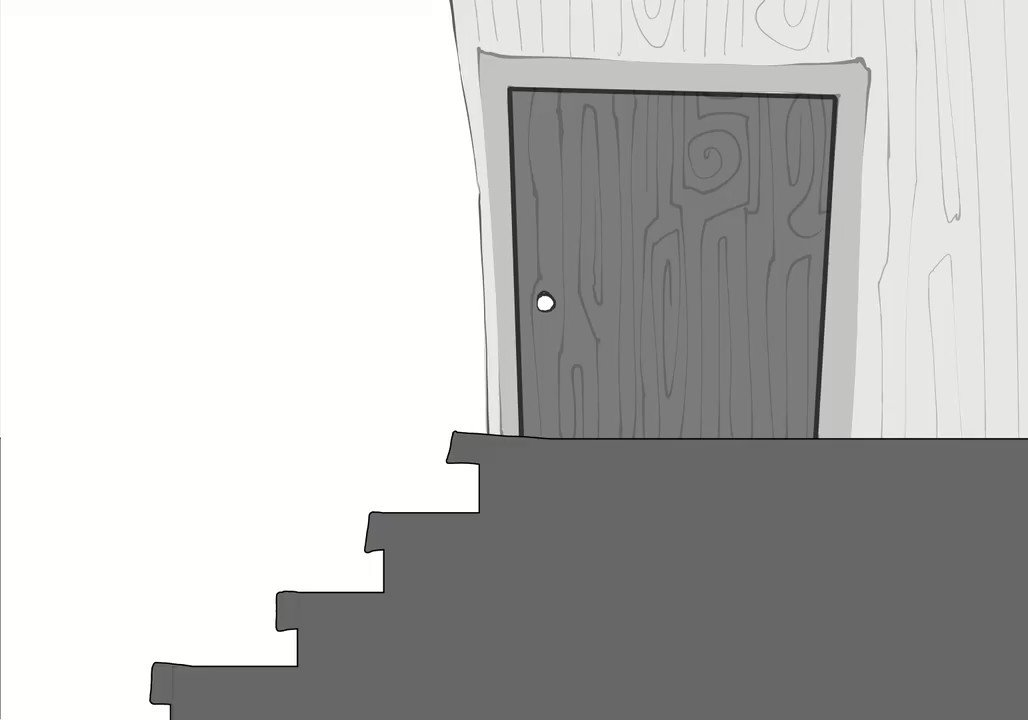 I couldn't stop laughing at @GameGrumps talking about Scatman falling down the stairs and I had to animate it 🤣