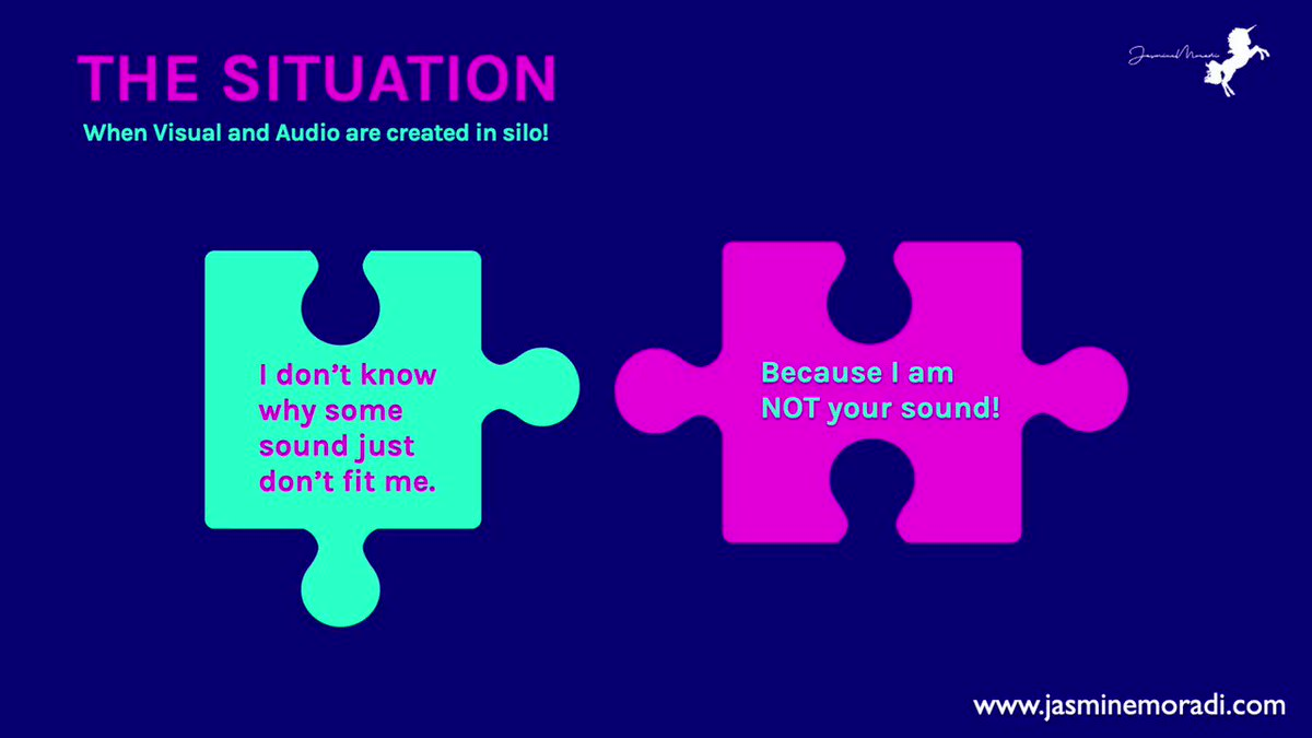 Image for the Tweet beginning: This is how your #audiobranding