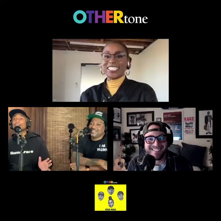 We know you're all bummed @insecurehbo is ending after season 5... Trust us, we are too 😭. Tune into our latest episode with @IssaRae for her thoughts on the final season.    Listen + get caught up on #OTHERtone: