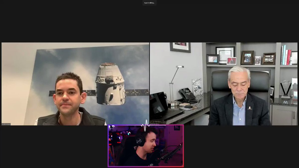 When you need to get the word out quickly, go straight to the top: @DrLupo. Thank you for having @rookisaacman and me on to talk about @StJude and @Inspiration4x, and to your fans and community for embracing our mission with all their heart. #Inspiration4StJude