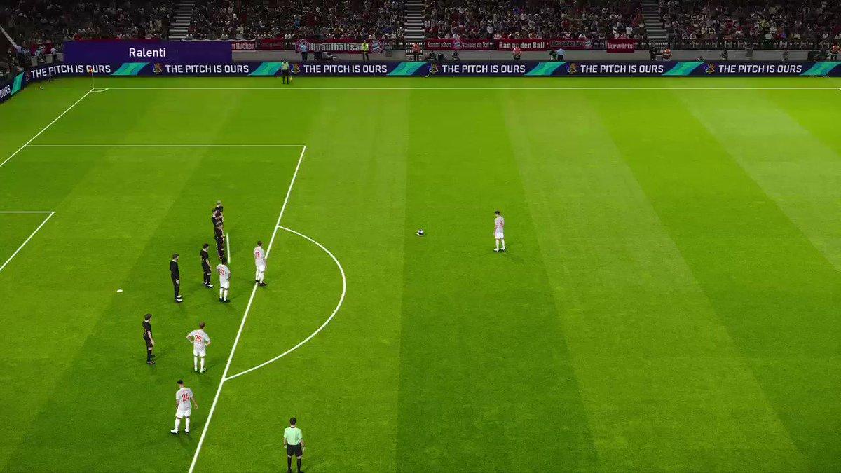 Magnifique Lewandowski #EFOOTBALLPES2021 #efootballOpen #matchday #PS4share