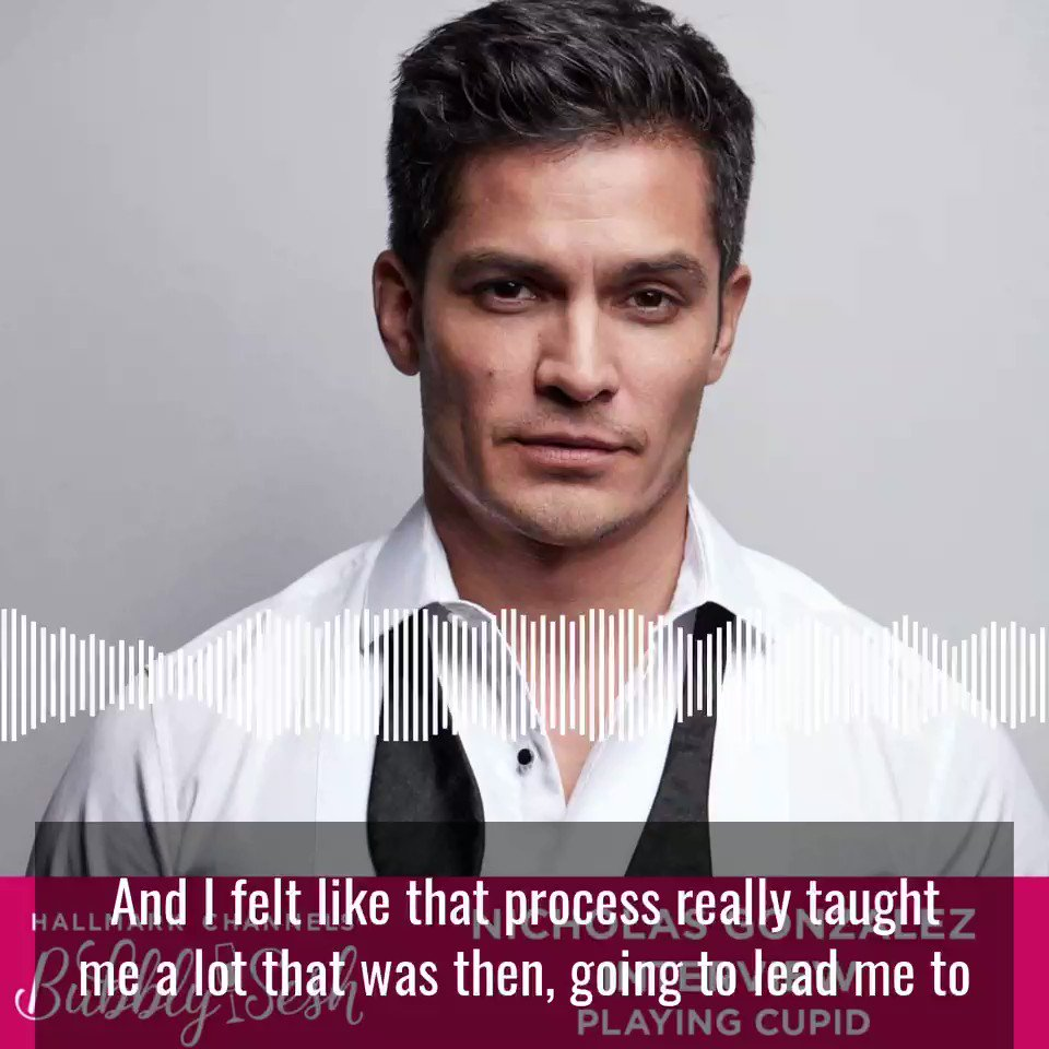 @IamNickGonzalez joined us on the podcast to chat upcoming premiere of @hallmarkchannel #PlayingCupid 💕 We also discuss his career, acting & fatherhood. Listen now: HallmarkChannel.Com/TheBubblySesh 🥂 #Hallmarkies