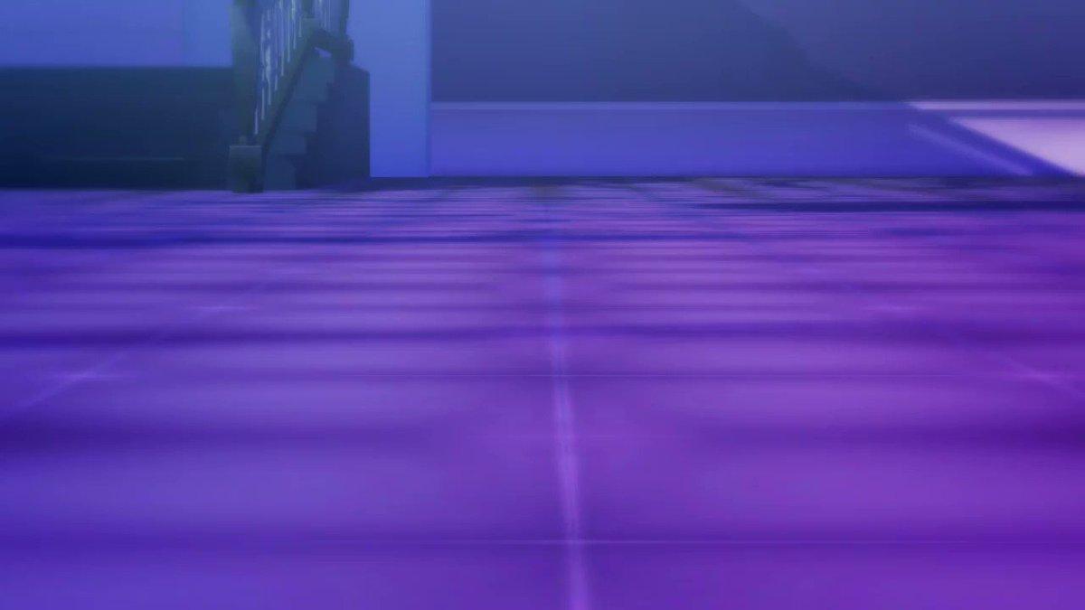 お水のエフェクトの可能性を探ったやつ!!🐙君お着替えっていうかなんかそういうの…  model:おおかみ様 stage:ケミリア様 motion:むつごろう様 effect:ビームマンP様、星風P様、角砂糖様