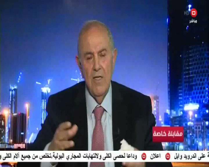 رأي مفاجئ من دكتور علاوي حول السلام مع اسرائيل السومرية غزوان جاسم اياد علاوي