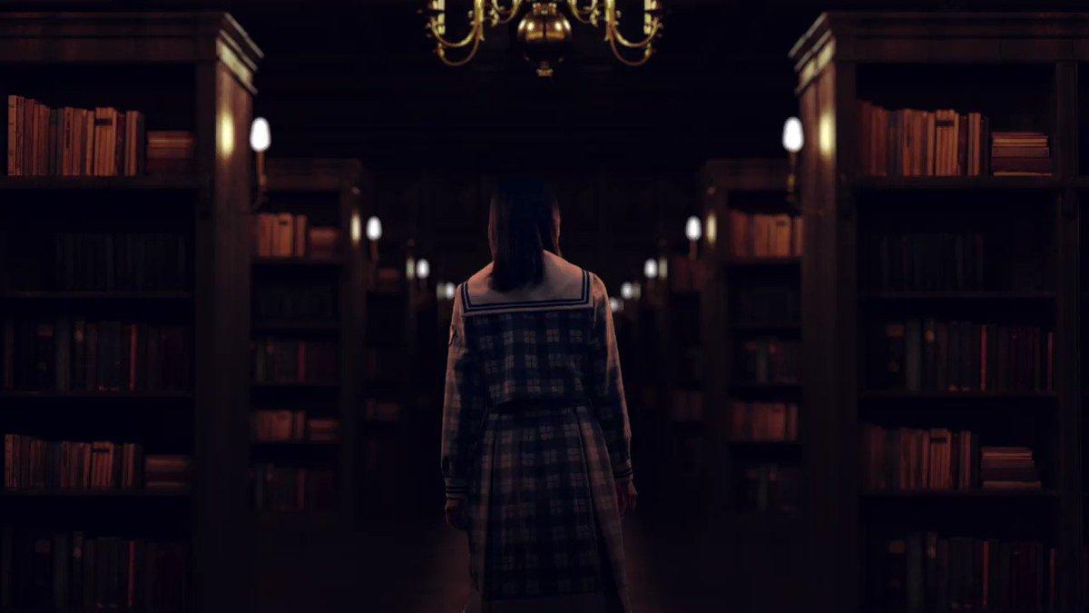 #ひな図書 PV第3弾を公開!   メンバーの #金村美玖 さんが  ふしぎな図書室で本を手にすると…📚  大剣を構えた凛々しい姿をぜひご覧ください👀   #日向坂46とふしぎな図書室