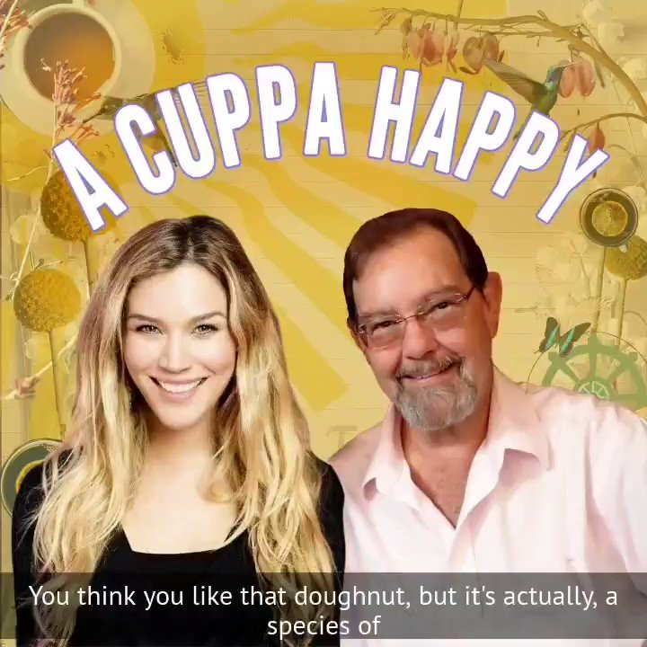 Our final episode of our podcast #ACuppaHappy is now live everywhere. Speaking to @psychbiotic was a joy and very educational. Find out how the gut brain axis could be affecting many aspects of your life