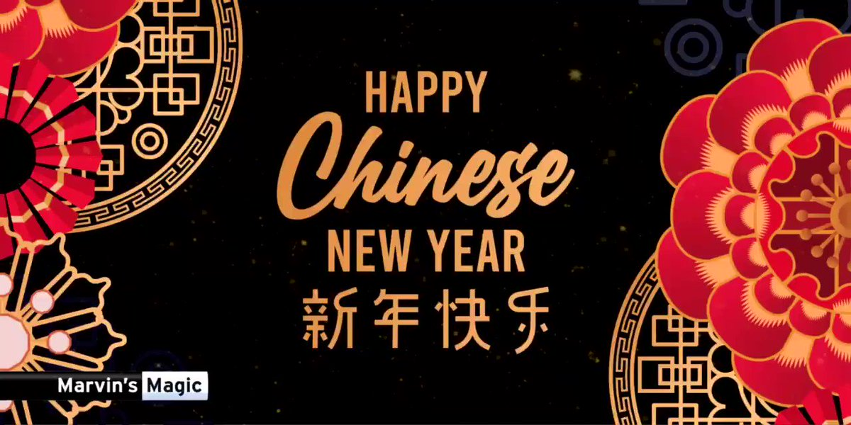 Image for the Tweet beginning: Happy #ChineseNewYear to all of