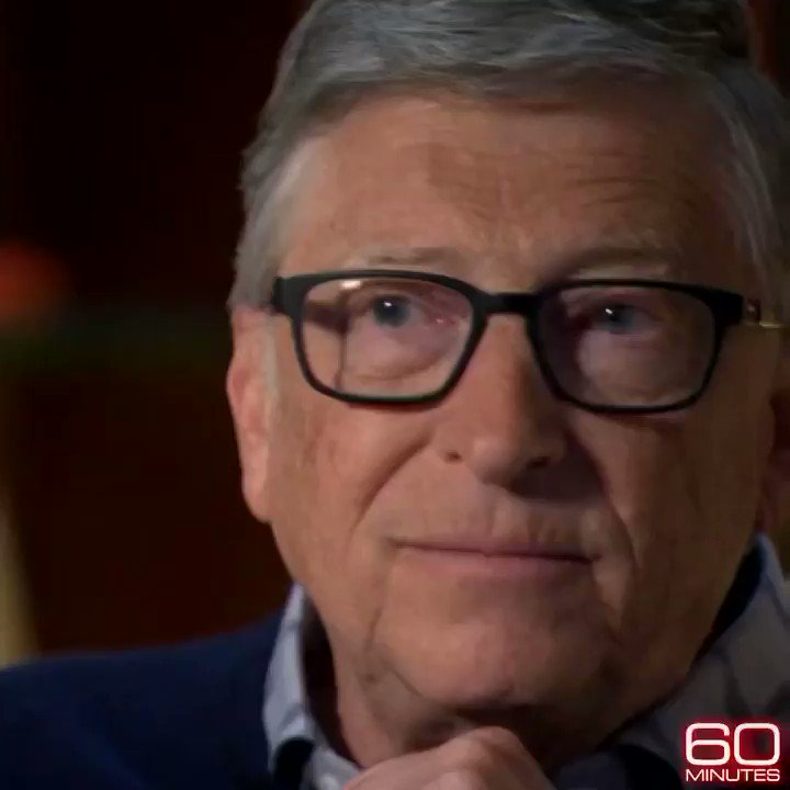 Went to Seattle recently to talk with @BillGates about #climatechange and innovation. See the story Sunday on @60Minutes