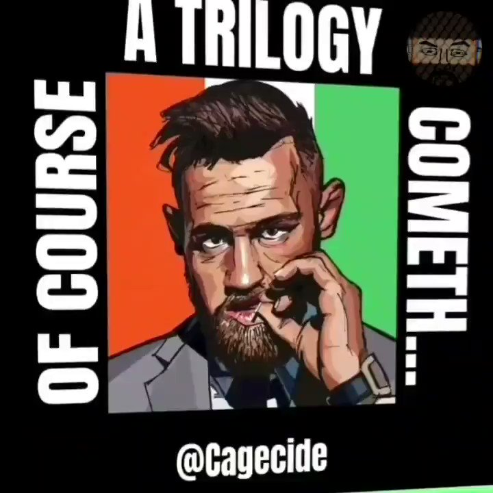 Was there ever a doubt? OF COURSE a trilogy is on the docket. The only question is which one. #McGregor vs #Poirier, or vs #Diaz? #UFC #MMA #MMATwitter 👉🤔