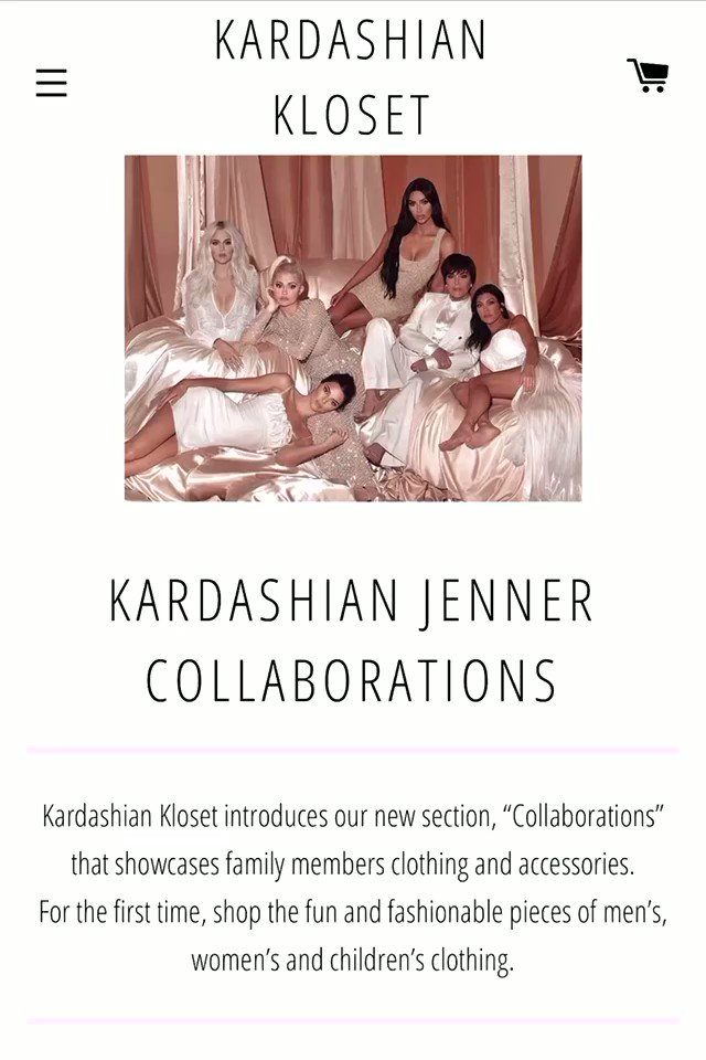 New items added to my kids #KardashianKloset!! 💗 Shop here: