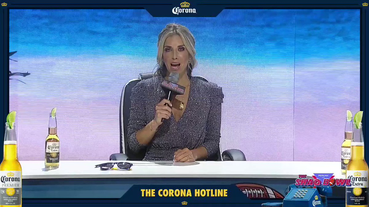 I was manning the @coronaextrausa Hotline on Big Game Day last Sunday! All my friends called in to let me know their predictions on who was going to take the W that night. #Sponsored #For21+