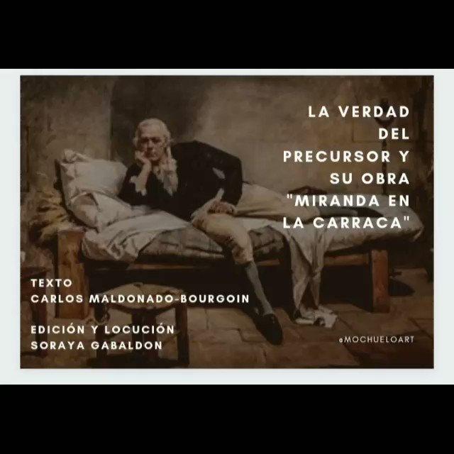 Image for the Tweet beginning: Francisco de Miranda un gigante