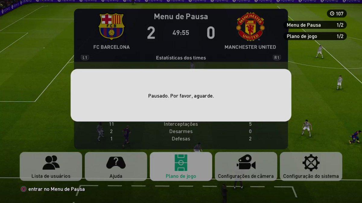 Ta pouco liso o menino Messi! #efootballopen #round2