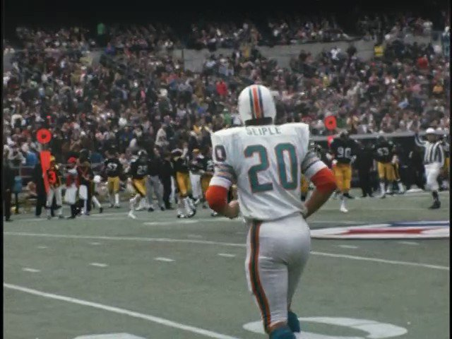 Happy Birthday Larry Seiple. Larry made a key play in the 1972 #AFCChampionship  #Dolphins