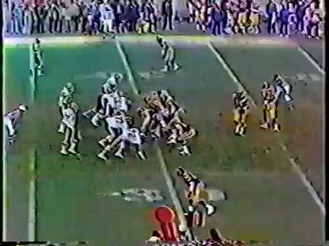 Awesome clip, great how Madden and Summerall let the action speak for itself before chiming in. Huge difference between announcers today who talk the whole time