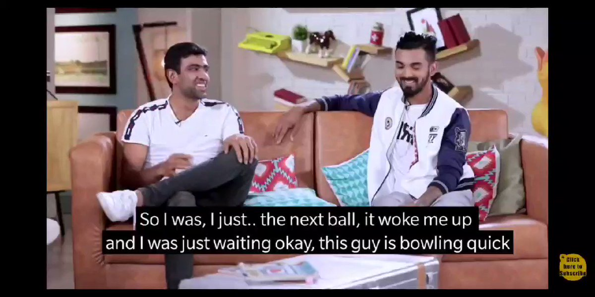 Here is @ashwinravi99 Anna, talking about his experience of batting with Virat Kohli on the other end during the South Africa series.  The way this partnership has happened today, pretty sure another interesting Kutty story loading. 🤣☺️