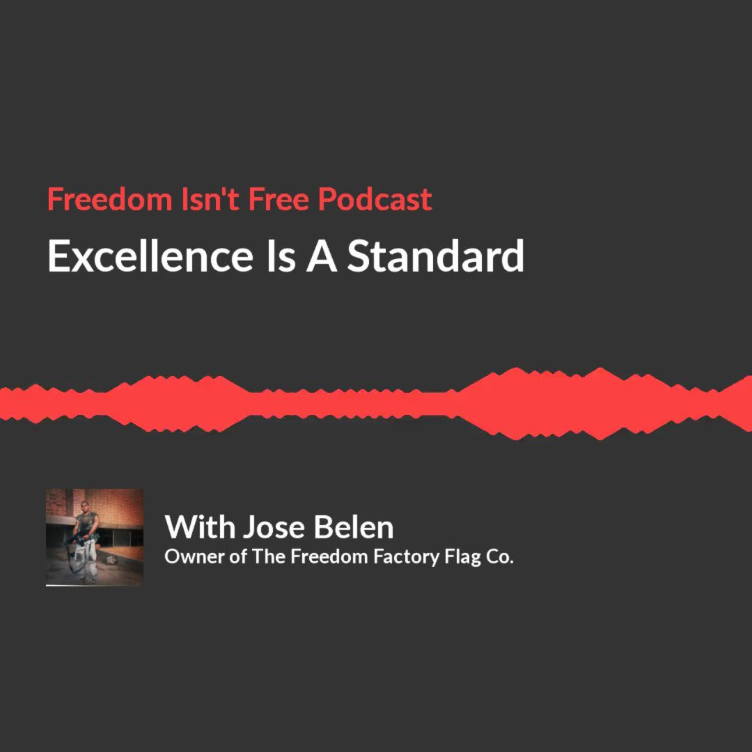 """This Thursday our episode, """"Excellence Is A Standard"""" airs. We had the privileged to interview, @josebelen_mz, where he talks with us about how quick he learned that if a man doesn't have a standard of excellence his work becomes meaningless.  #newepisode #podcast #podcasters"""