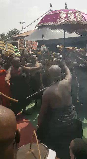 "Ashanti Kingdom: ManhyiaPalace ""This rhythm is ATOPRETIA   Follow link to learn the rhythms of fontonfrom    "" #Exploregh #Ashanti #Kumasi #VisitKumasi"