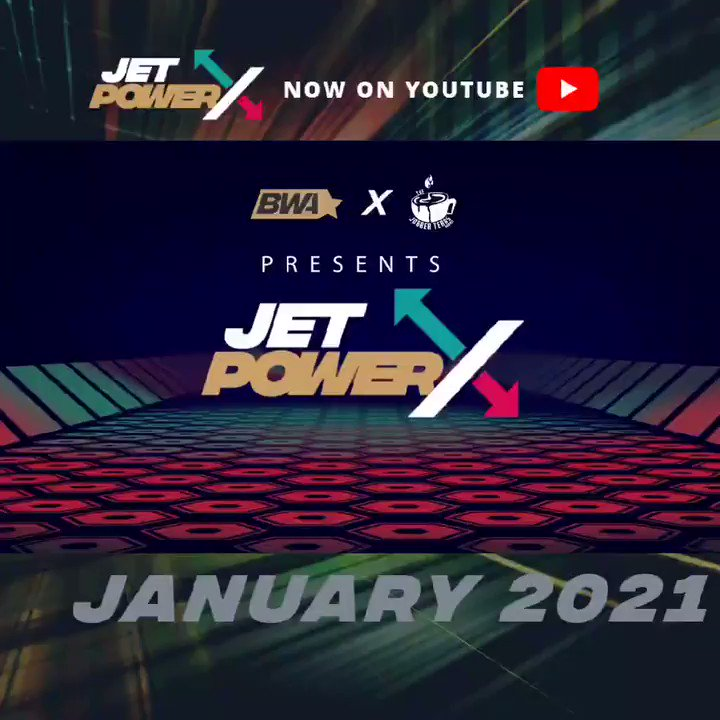JET POWER X! Check out who made January's Top Ten in the ONLY Black Wrestling Power Ranking! #JetPowerX #JPX #BHM #ProWrestling #BlackWrestling