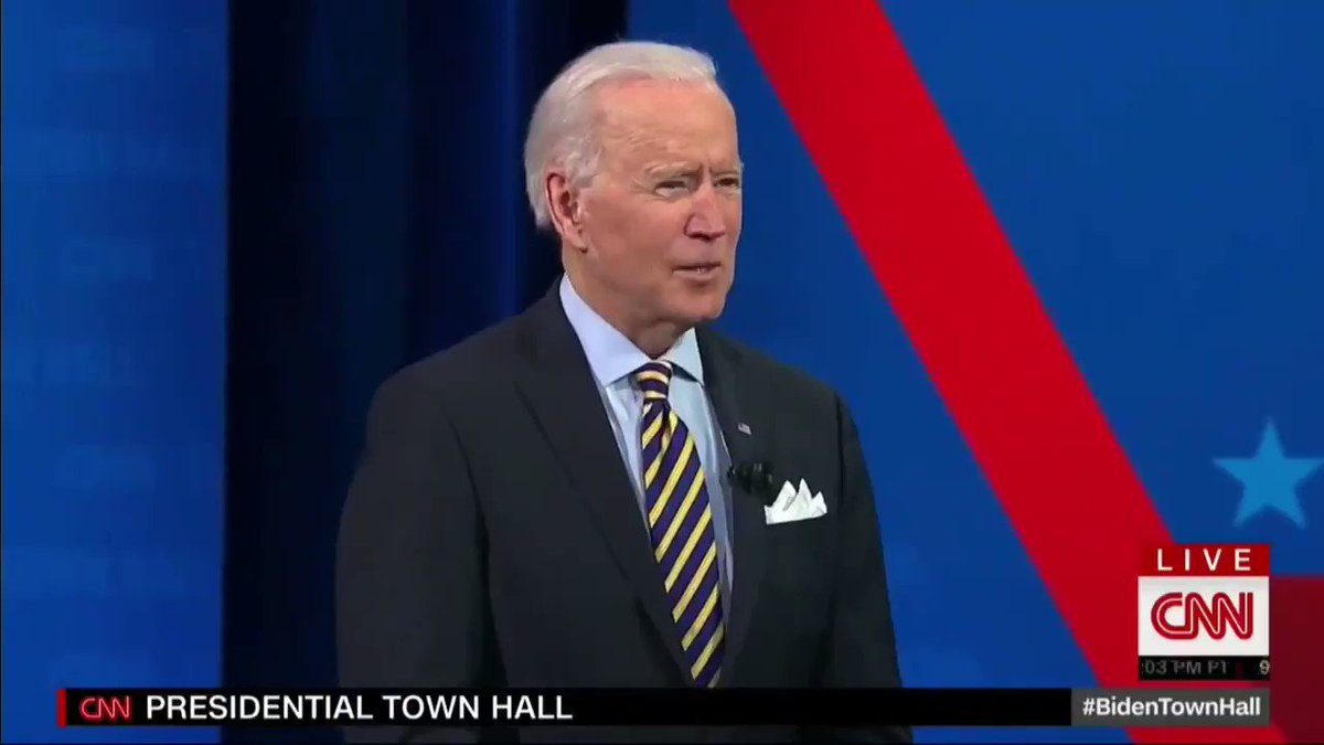 Here's Joe Biden saying tonight that we did not have a vaccine when he entered the White House  vs.  Joe Biden receiving his second dose of the vaccine on January 11 (9 days before entering office)