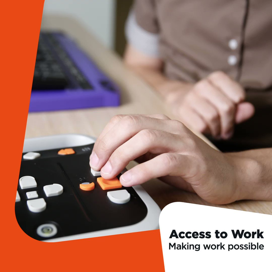If you have a health condition or a disability that makes it difficult to work, even if you are working from home, support may be available. Find out if you could get an #AccessToWork grant to support you in work ow.ly/V7IC50Dbpek