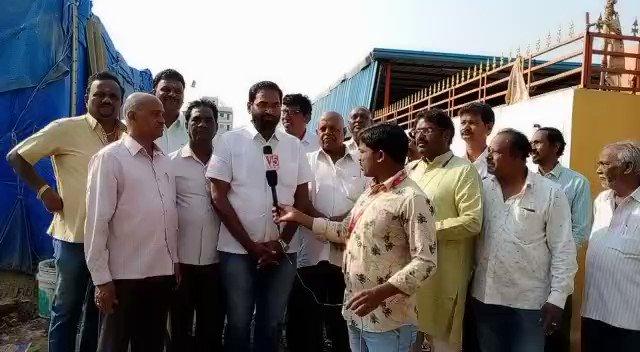 @ AYS LangarHouse  @ivf_ts Hyderabad Vhibhag General Secretary Mustyala Srinivas speaking to Media on #KotiVruksharchana  #kotivrukshaarchana #KotiVriksharchana  @raghavtrs