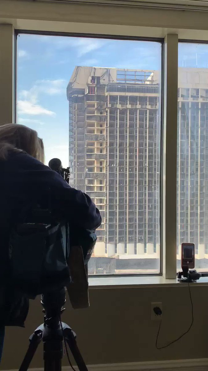 Boom 💥 with a view   (Caption cred goes to my friends at @playnjcom)   Historic moment in Atlantic City! A beautiful day for a new skyline in the City! And now we can wave 👋🏼 to @TropicanaAC ☀️🌊❤️