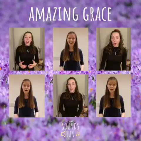 To mark the start of lent and the start of our Lent 4 Life we've put together a little recording of Amazing Grace🎶🙌  #thatsoundsfun #amazinggrace #Lent #lent4life #virtualrecording #hymn #singtogether #feelinggrategul #hopeful