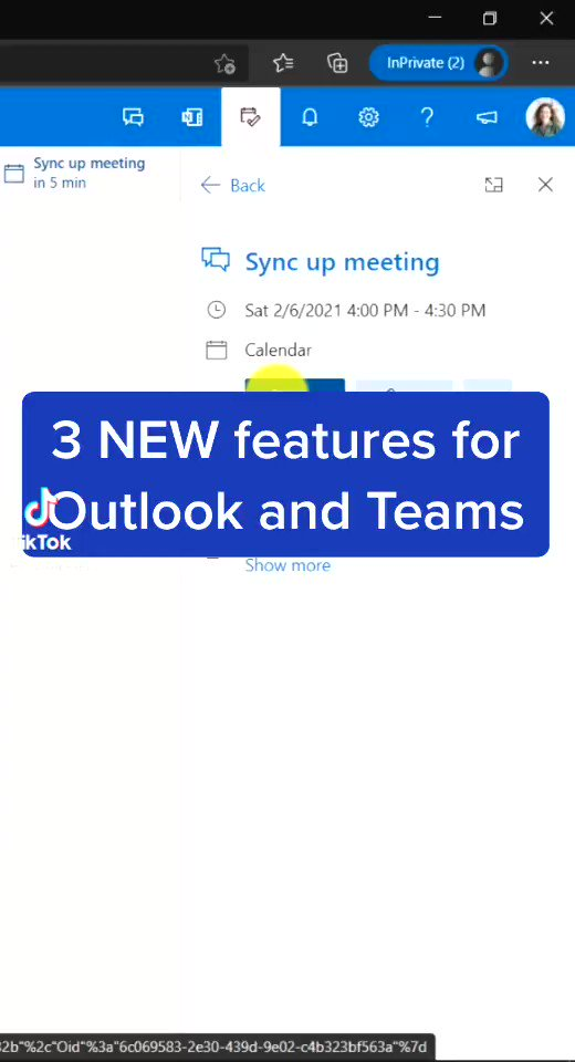 This micro tip shows 3 new features for #MicrosoftTeams and Outlook 👉 vm.tiktok.com/ZMeNe6kbT/ #edtech #mieexpert