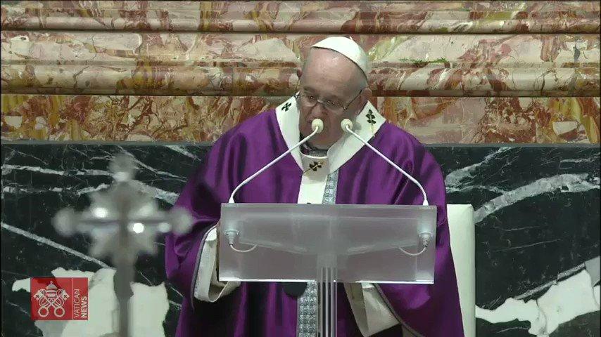 """➤ """"Volvamos al Espíritu Santo, Dador de vida, al Fuego que hace resurgir nuestras #cenizas. Volvamos a rezar al Espíritu, redescubramos el fuego de la alabanza, que hace arder las cenizas del lamento y la resignación"""" - @Pontifex_es @iglesiamexico @PSaludMadrid  #Cuaresma"""