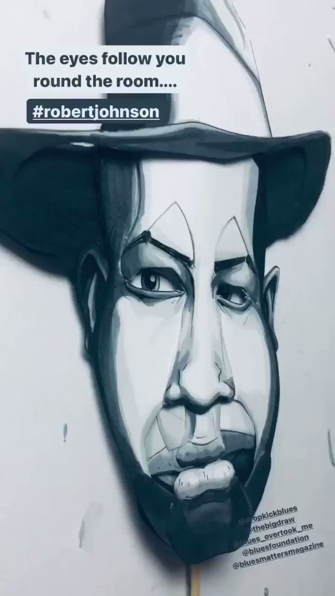 Image for the Tweet beginning: Working on a Robert Johnson