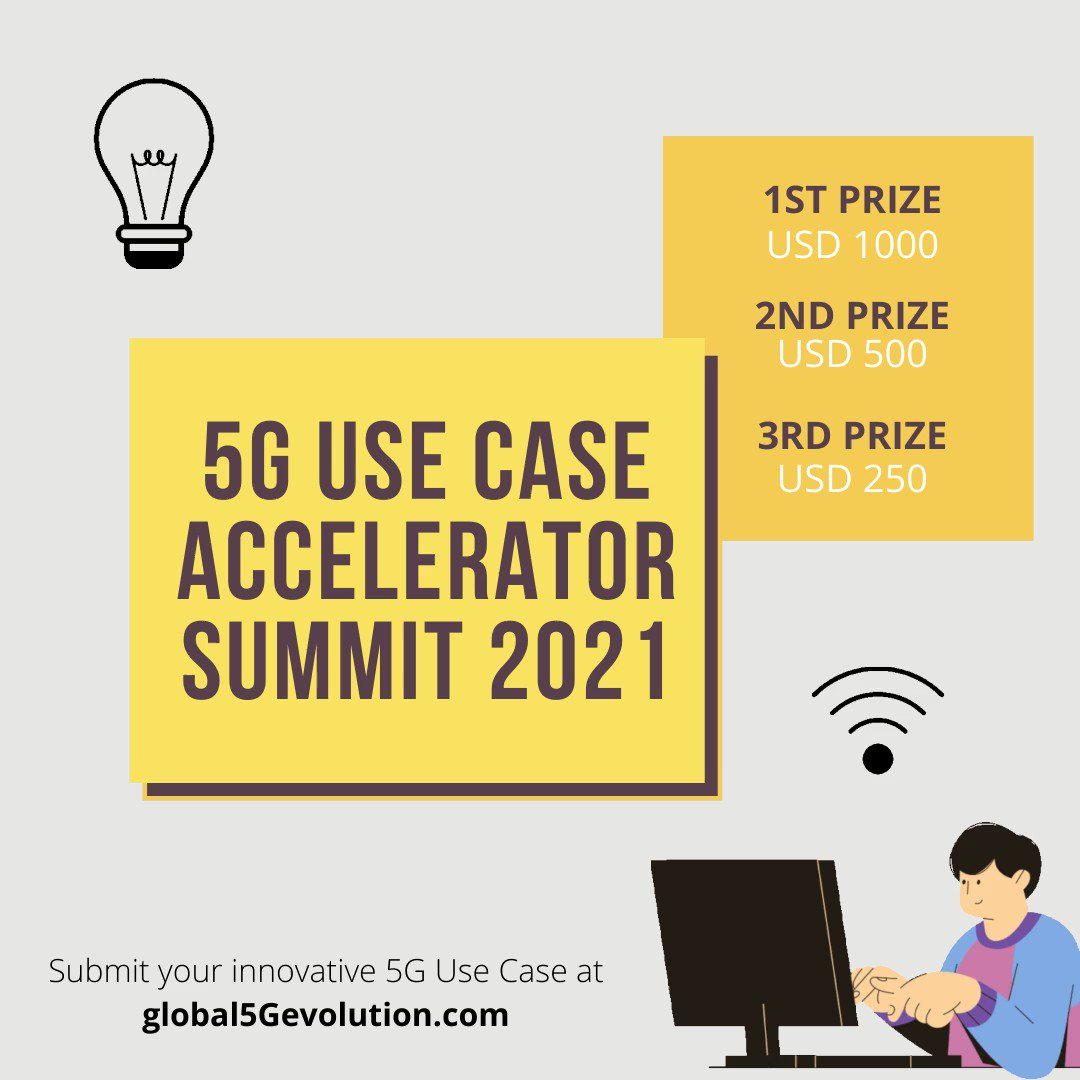 Do submit your innovative #5G use case now! For details, Click   #5G #5gnr #ran #core #ai #mimo #researchers #edge #cloud #iot #cloud_native #university #degree #masters  #foryoupage #memes #love #happy #Packers #Brady #Rodgers #GreenBay #NFCChampionship