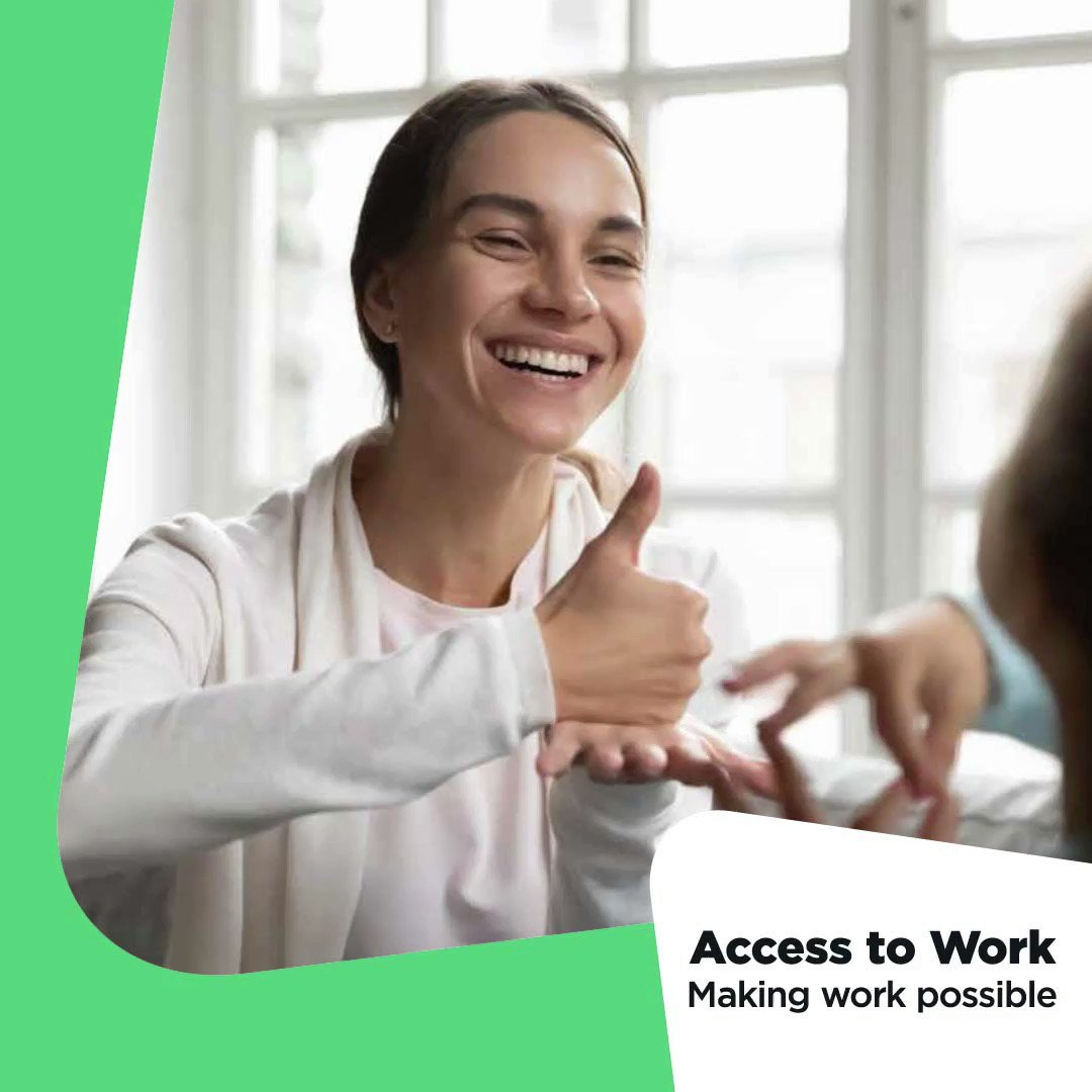 #AccessToWork provides financial support to help you stay in work. Find out if you could get a grant to help pay for some of the support you need. ow.ly/bZir50Dbpl6