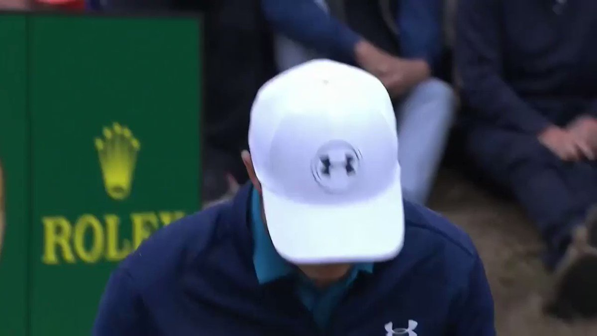 Two top 5 finishes in consecutive weeks, @JordanSpieth is back 👊   Watch dramatic footage from the American's last victory in 2017 at @TheOpen, where Spieth navigated a complicated Ruling on his way to lifting the Claret Jug🏆  Watch the full film here 👉