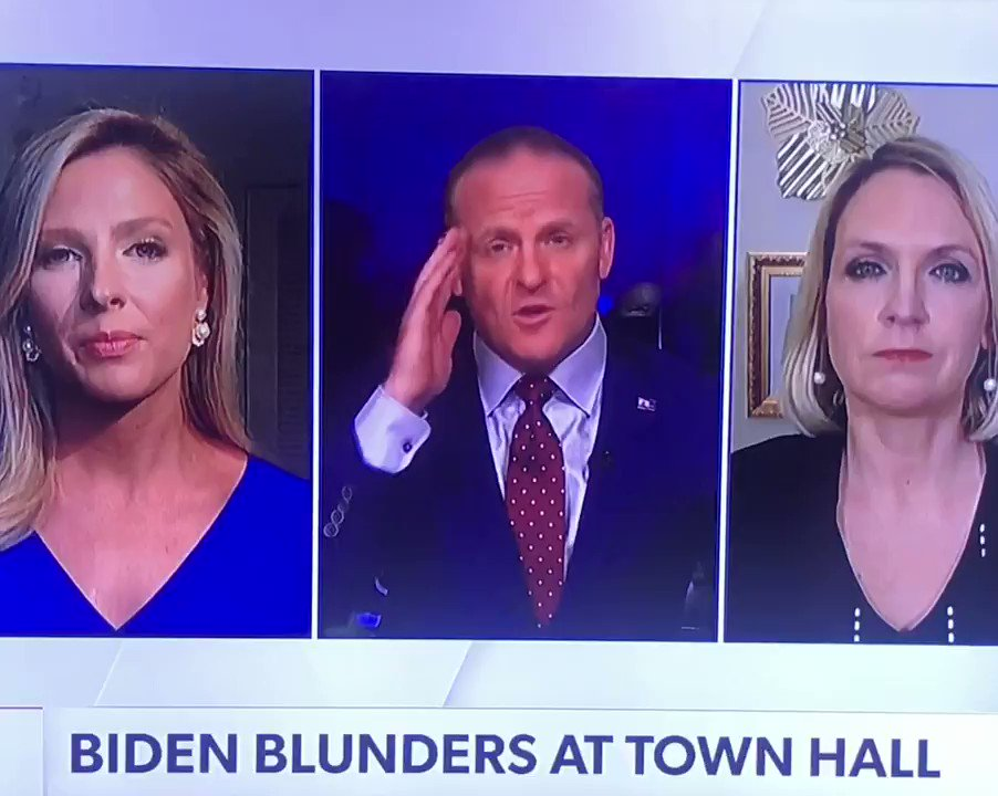 """Biden town hall Breaking News!  Taiwan ———  Biden says he will 'NOT' SPEAK OUT AGAINST China  'FORCEFULLY ENFORCING' THE END OF THE """"ONE CHINA POLICY""""!  #CNNTownHall #freedomisnotfree"""
