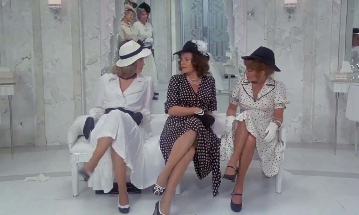Cybill Shepherd, Eileen Brennan & Madeline Kahn preforming Most Gentleman Dont Like Love in AT LONG LAST LOVE (1975) dir. Peter Bogdanovich