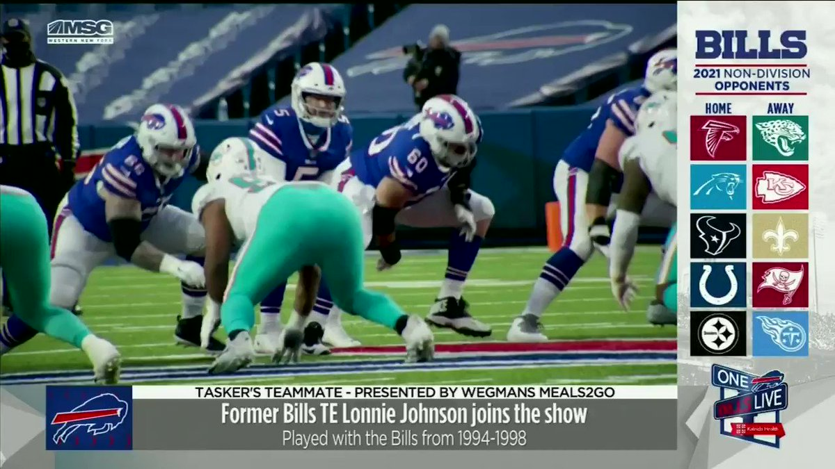 Who knew?!  This week's Tasker's Teammate coached Bills WR @DavisGB1 in high school.  Former #Bills TE Lonnie Johnson on why the current Bills WR is one of the most hardest working individuals he's ever met⬇️🔊  @BillsLegends